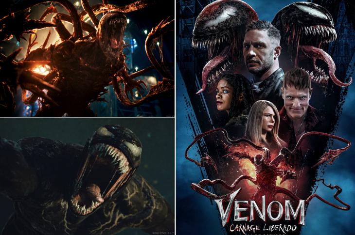 Venom Carnage Liberado estreno y galería interactiva del elenco