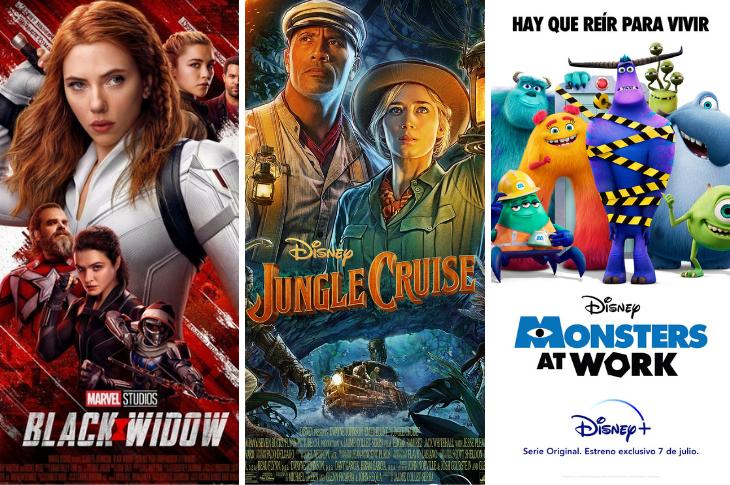 Disney Plus México estrenos para julio de 2021