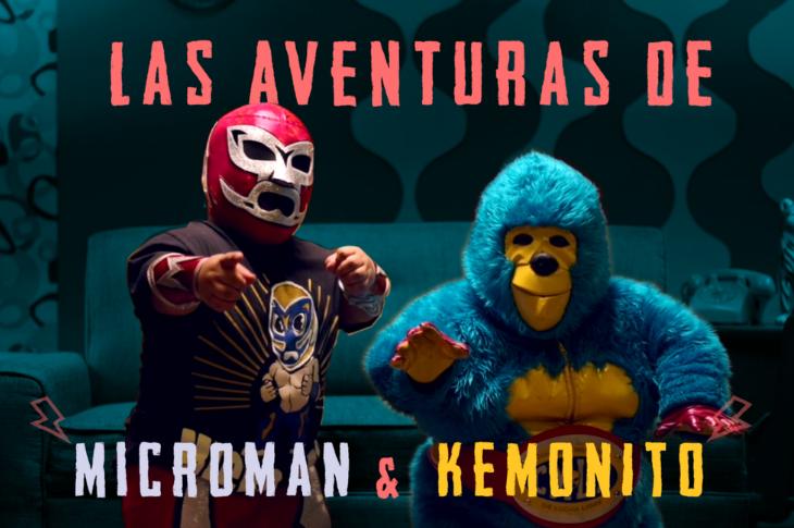 PUBG MOBILE y El CMLL presentan: Las Aventuras de KeMonito y Microman