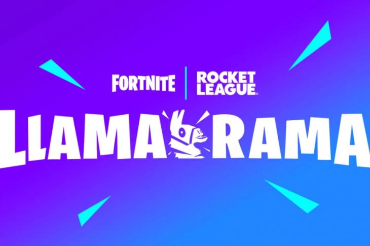 Fortnite y Rocket League se unen en el LLAMA-RAMA