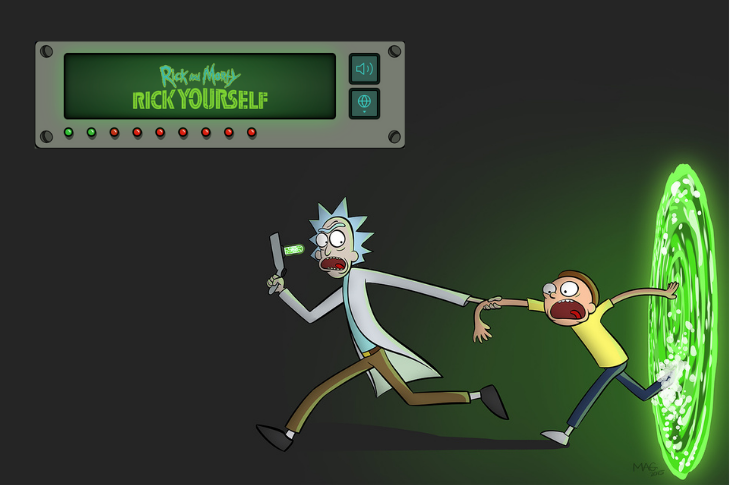 Crea tu avatar personalizado de Rick and Morty