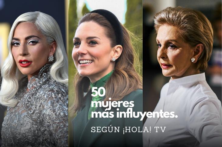 Las 50 mujeres más influyentes del mundo según ¡HOLA! TV