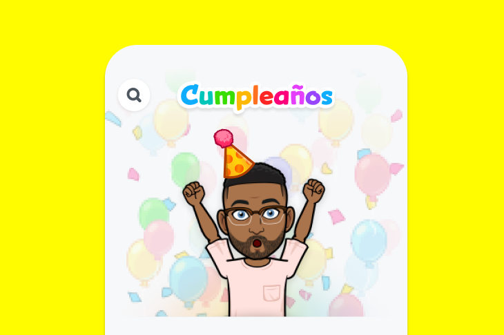 Snapchat lanza nueva función Mini de Cumpleaños