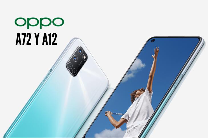 OPPO A72 y A12 llegan a AT&T México precio y ficha técnica