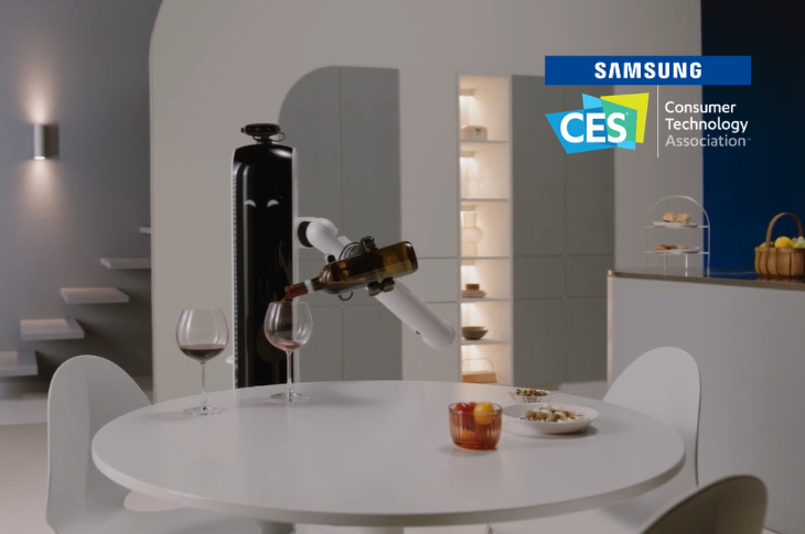 Samsung en CES 2021: robots con IA para la casa, refrigerador Bespoke y más gadgets