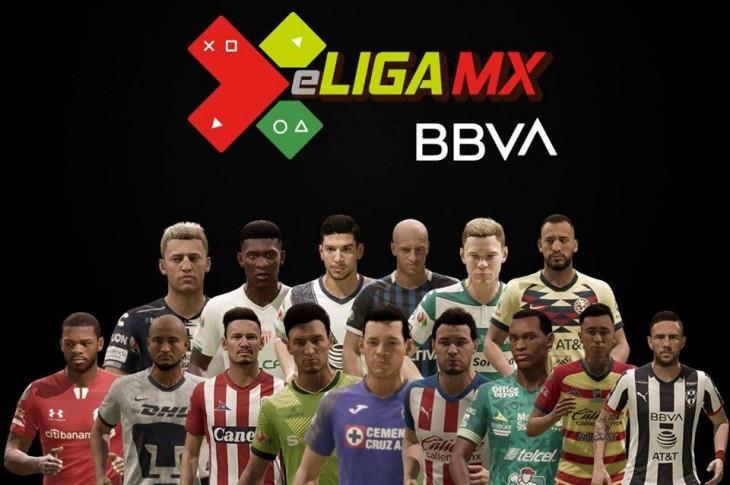 eLiga MX futbolistas de cada club que participarán en el torneo
