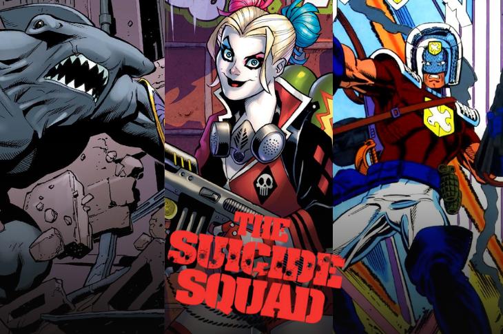 The Suicide Squad 2 galería interactiva del elenco