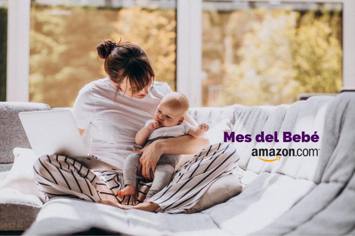 El Mes del Bebé en Amazon México llega con ofertas irresistibles