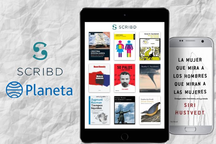 Scribd cierra trato exclusivo con Grupo Planeta