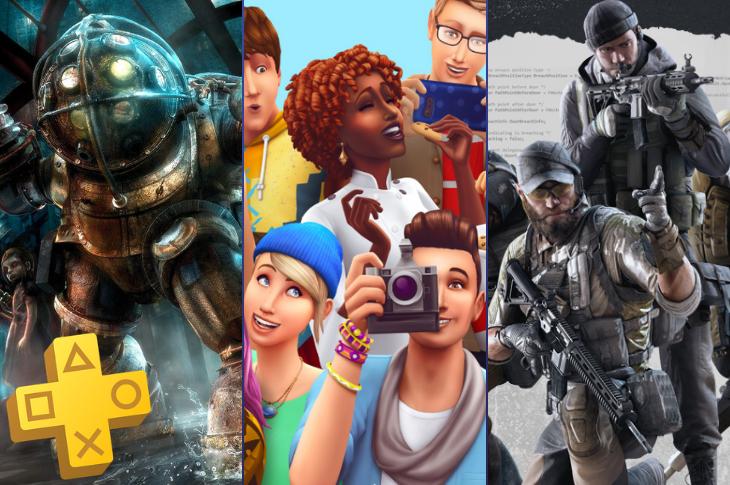 Juegos gratis de PS Plus en febrero 2020 Bioshock, The Sims 4 y Firewall Zero Hour