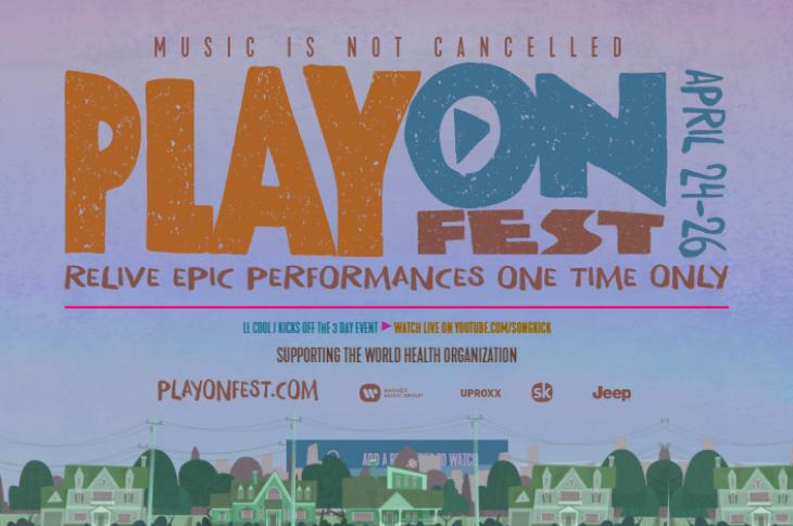 PlayOn Fest cartel de conciertos legendarios online