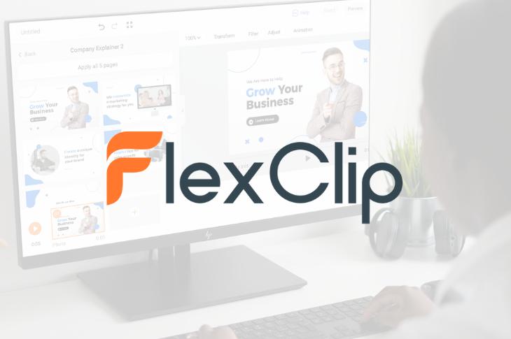 FlexClip: herramienta de edición de video en línea con plantillas