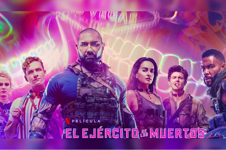 El Ejército de los Muertos evento de Netflix para ver adelanto de la película