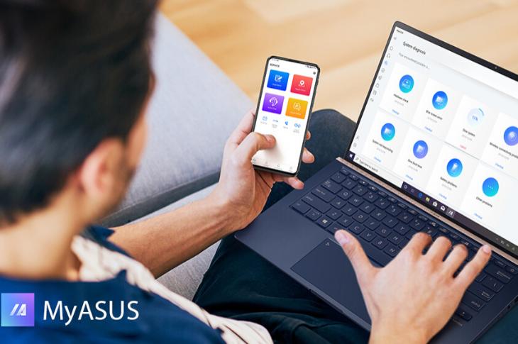 Cómo usar MyASUS app para diagnosticar ajustes técnicos de tu laptop
