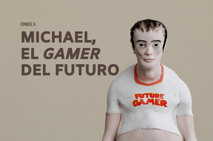 Así se verán los gamers en 20 años, según un estudio