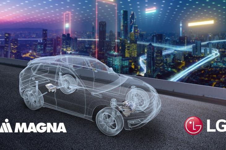LG Y Magna firman acuerdo para un nuevo e interesante proyecto