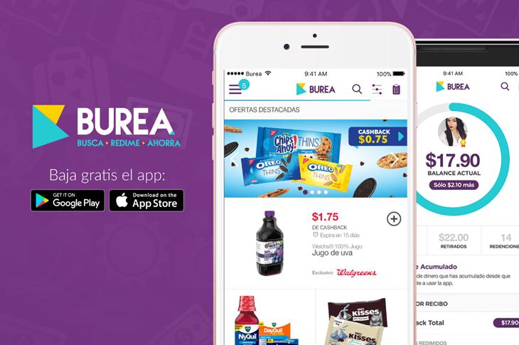 BUREA La app que te recompensa por hacer tus compras online