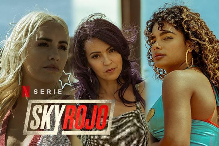 Sky Rojo galería interactiva del elenco de la nueva serie de Netflix