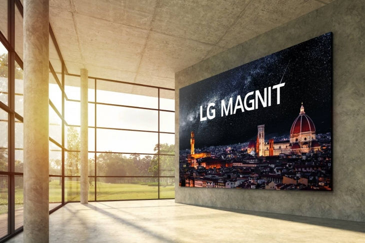 LG MAGNIT conoce la mega pantalla de 163 pulgadas y resolución 4K
