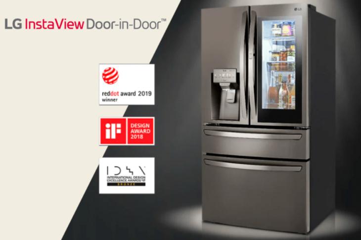 LG Instaview Door-in-Door: el refrigerador que te ahorra hasta 32% de energía al año