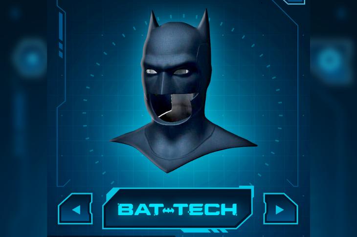 DC Batman Bat-Tech Edition app de minijuegos y realidad aumentada