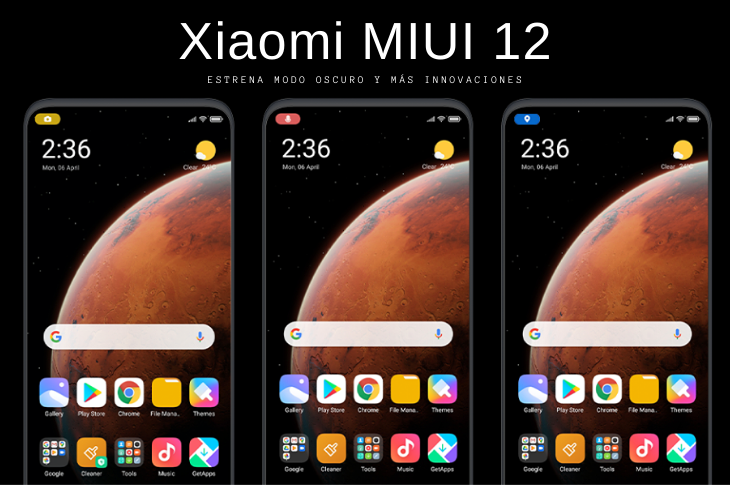 Xiaomi MIUI 12 llega en junio con modo oscuro y más novedades