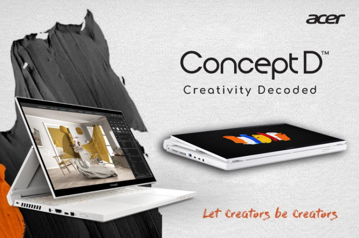 Acer ConceptD ¿Las mejores laptops para diseñadores?