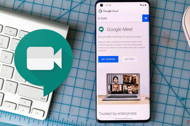 Google Meet introduce cancelación de ruido de fondo