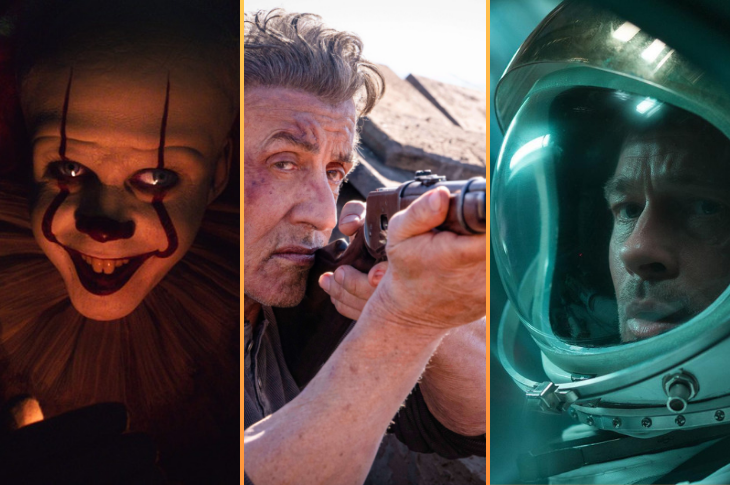 Próximos estrenos de cine en México septiembre de 2019
