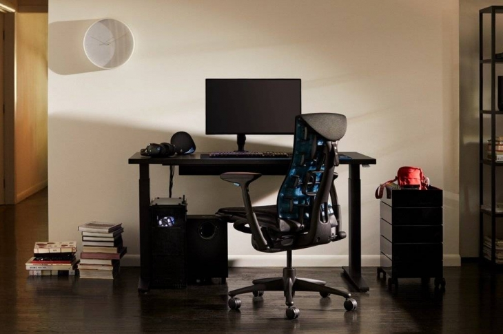 Logitech y Herman Miller crean la primera silla gamer ergonómica