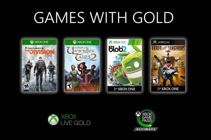 Juegos gratis de Xbox en Games with Gold para septiembre de 2020