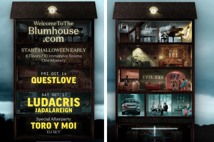Ludacris, Questlove y Toro Y Moi confirmados en Welcome To The Blumhouse Live