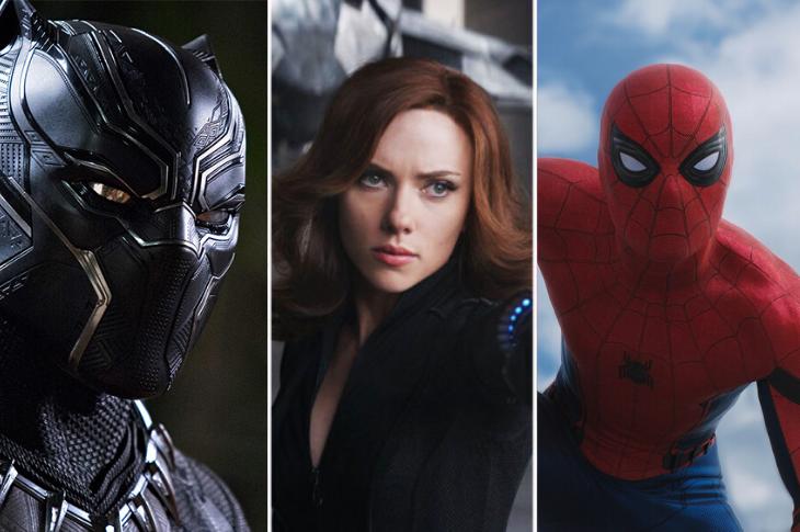 Fechas de estrenos de Marvel atrasados por COVID-19