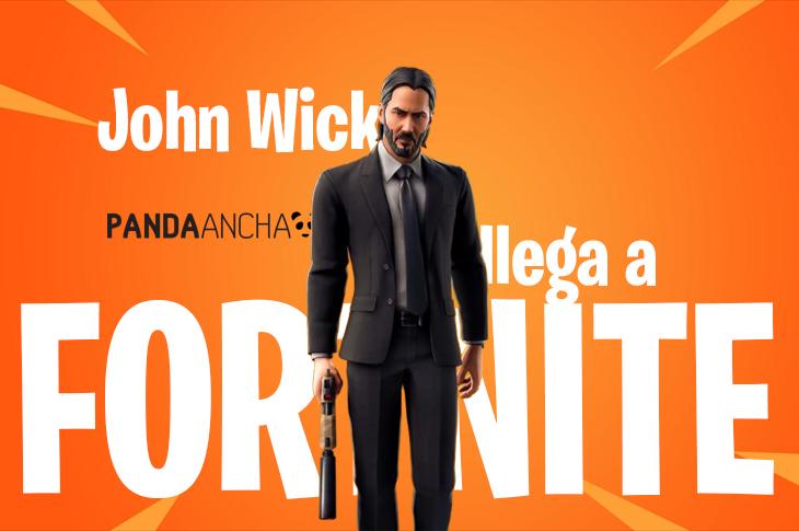 Fortnite y John Wick traen un evento con material exclusivo
