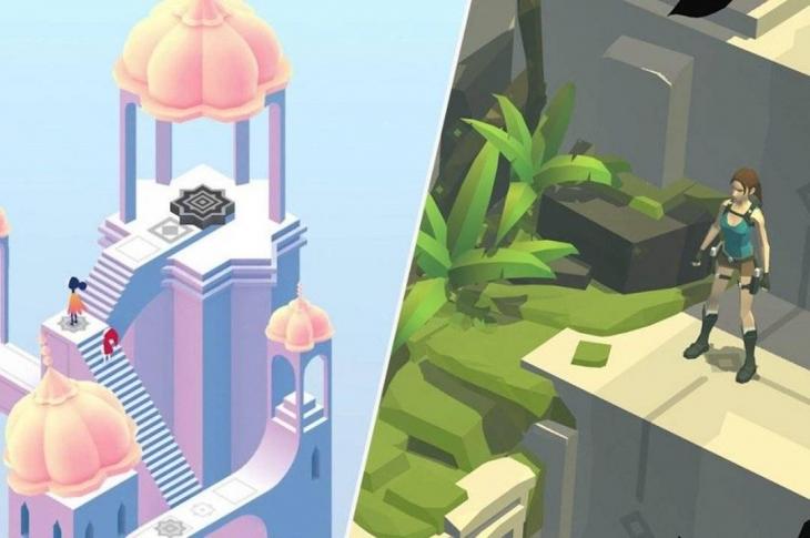 Monument Valley 2 y Lara Croft GO gratis para Android e iOS por Coronavirus