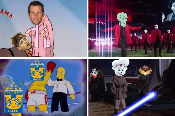 Memes del show del medio tiempo del Super Bowl, Tigres y más