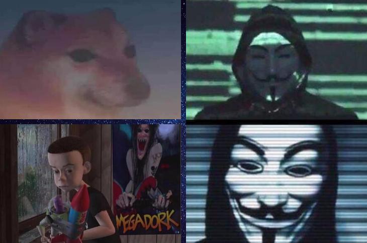 Los mejores memes Anonymous, lanzamiento de Space X, hipocresía y más