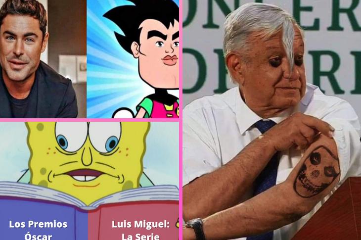 Memes de los premios Oscar, Zac Efron, AMLO y más