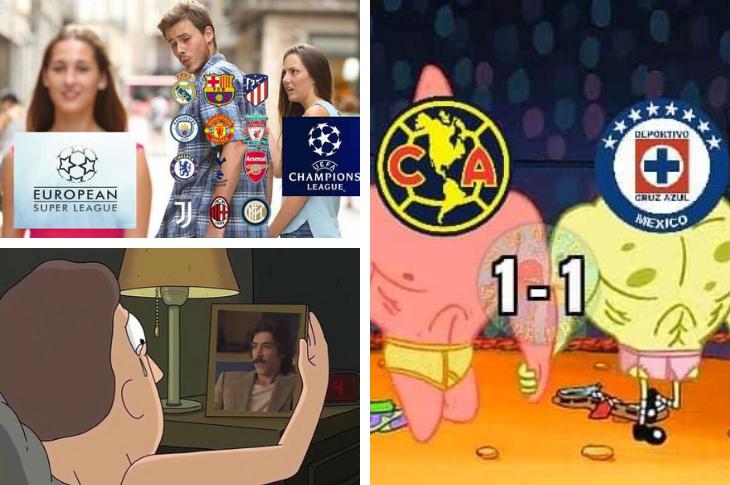 Memes de Luis Miguel la serie, Superliga Europea, Liga MX y más
