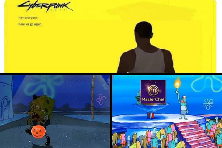 Los mejores memes Día de muertos, Cyberpunk, Masterchef y más