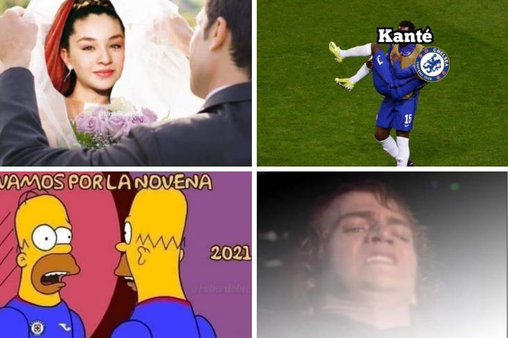 Memes de Belinda comprometida, Final de la Champions y de Liga MX