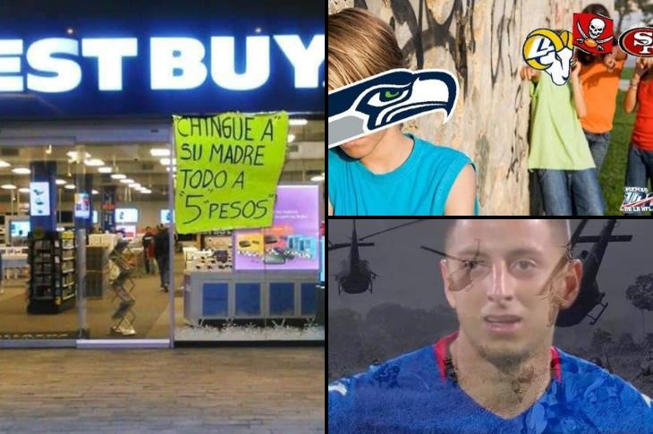 Los mejores memes Cruzazuleada, Best Buy, NFL y más