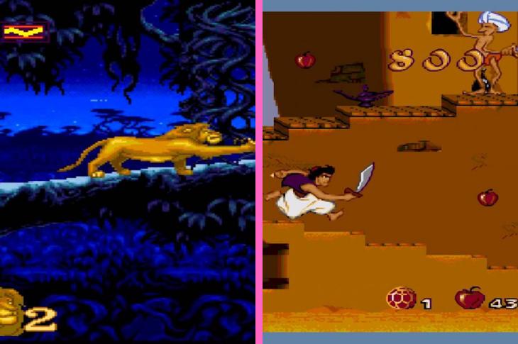 Los videojuegos de Aladdin y El rey león tendrán una remasterización