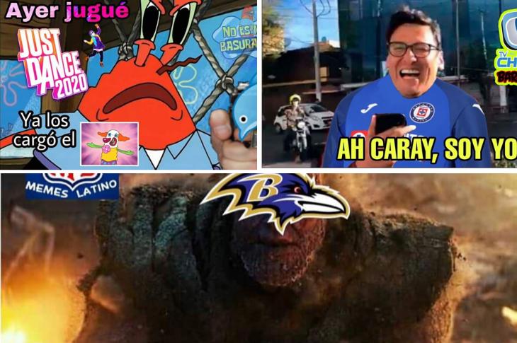 Memes del regreso de la Liga MX, playoffs de la NFL, violencia y videojuegos y más