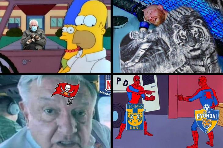 Memes de Bernie Sanders, Liga MX, NFL, McGregor y más