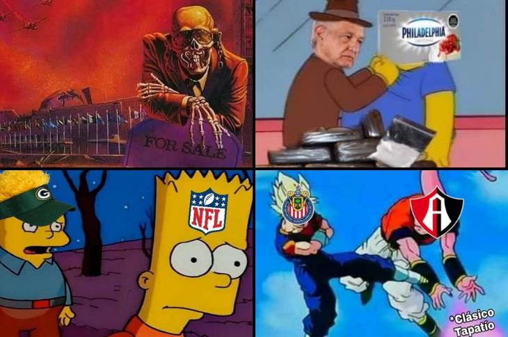 Los mejores memes Queso Philadelphia, Megadeth, Liga MX y más