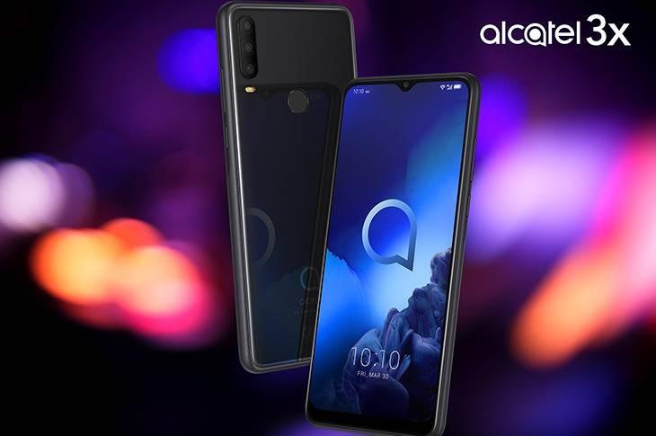 """Alcatel 3X, su triple cámara trasera y super pantalla de 6,52"""""""