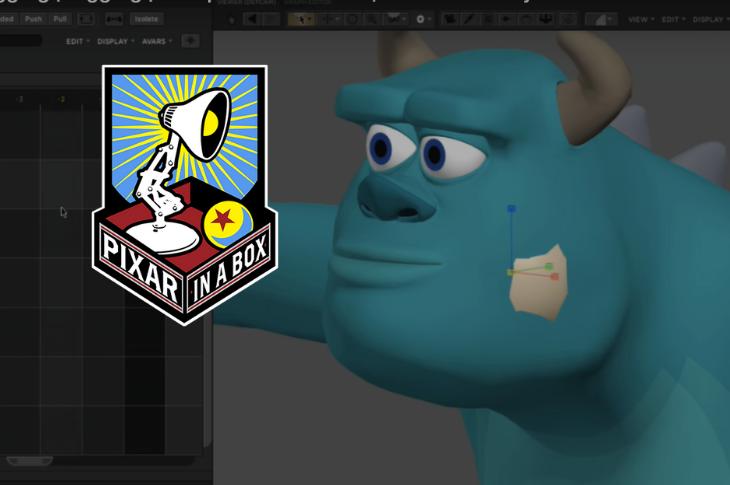 Pixar in a Box tutoriales para aprender animación en línea