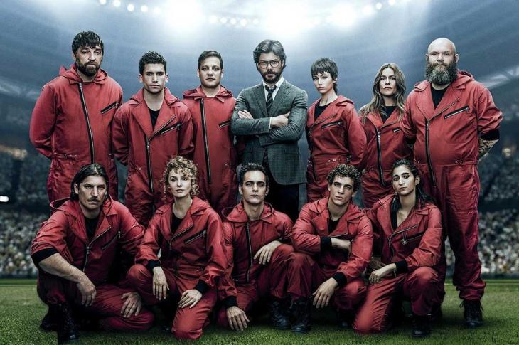 La Casa de Papel, Temporada 5 galería del elenco
