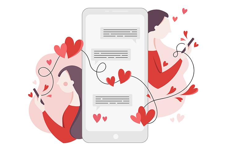 San Valentín online: amor y apps de citas (INFOGRAFÍA)